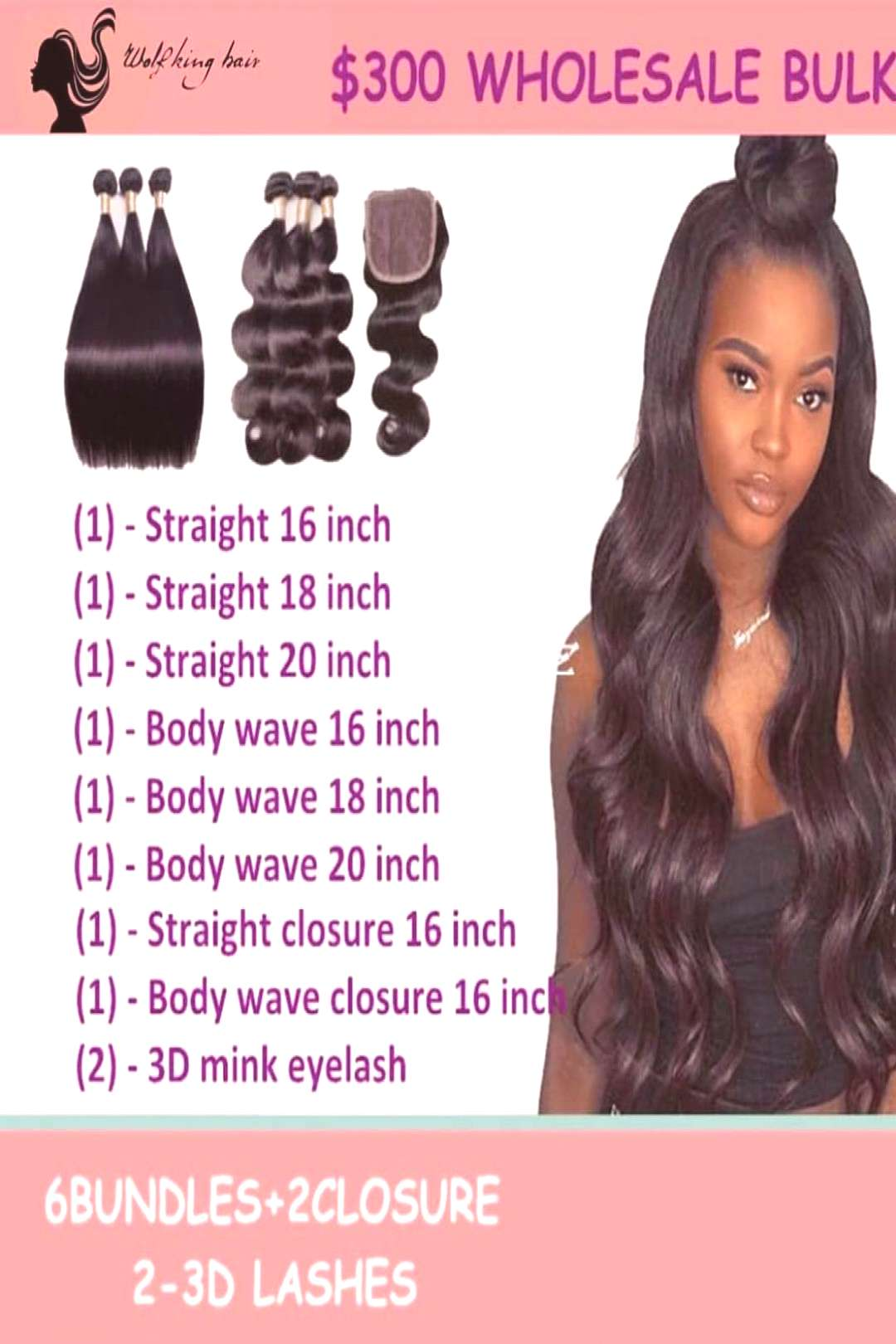 100 virgin hair factory on April 21 2020 1 person text