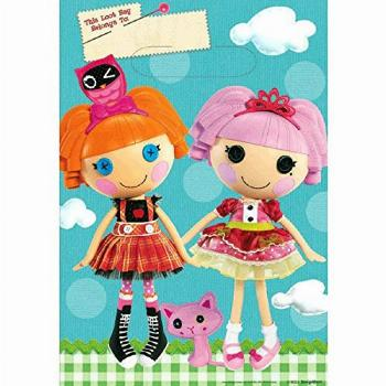 Adorable Lalaloopsy Birthday Party Favours Plastic Loot Bags