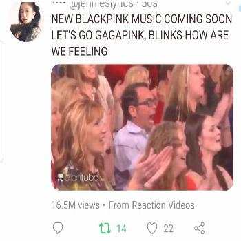 BLACKPINK FANPAGE on April 24 2020 and 5 people text