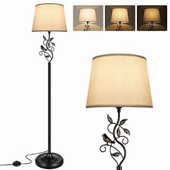 Floor Lamp with Dimmer, Fully Dimmable Living Room Lamp