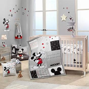 Lambs & Ivy Disney Baby Magical Mickey Mouse 3-Piece Crib