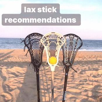 lax on April 21 2020 outdoor possible text that says lax stick re