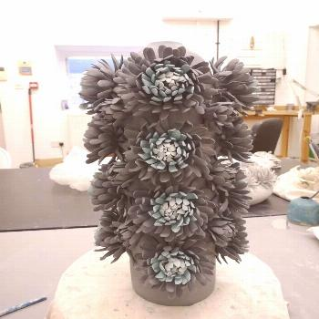 Linda Southwell Ceramics on April 22 2020 2 people plant and indo
