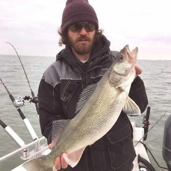 Midtown Fishing Charters on April 23 2020 1 person sky ocean outd