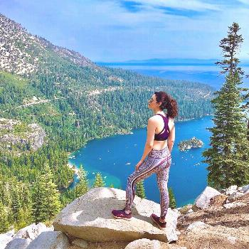 Neka on April 22 2020 1 person mountain outdoor and nature