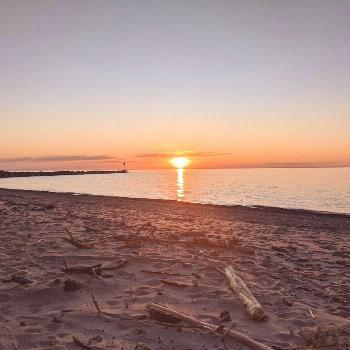 Presque Isle Chamber on April 24 2020 ocean sky outdoor water and