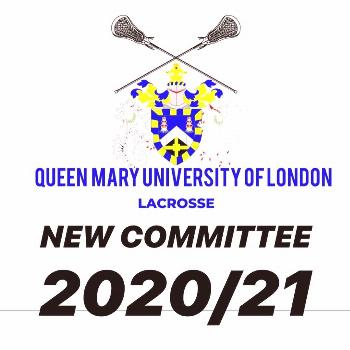 QMUL LAX on April 24 2020 possible text that says QUEEN MARY UNIV