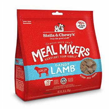Stella & Chewy's Freeze-Dried Raw Dandy Lamb Meal Mixers Dog
