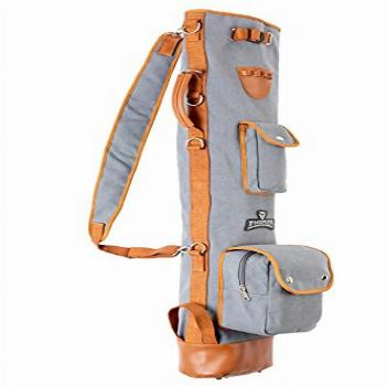 Thorza Sunday Golf Bag for Men and Women - Vintage Canvas