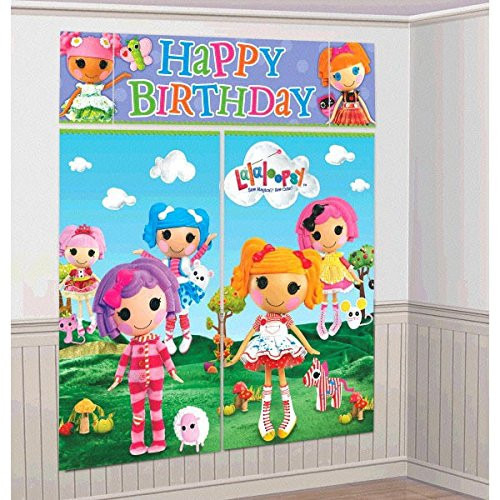 Adorable Lalaloopsy Birthday Party Scene Setters Wall