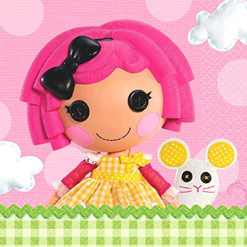 Adorable Lalaloopsy Luncheon Napkins Birthday Party