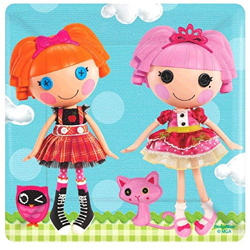 Adorable Lalaloopsy Square Dessert Paper Plates Birthday