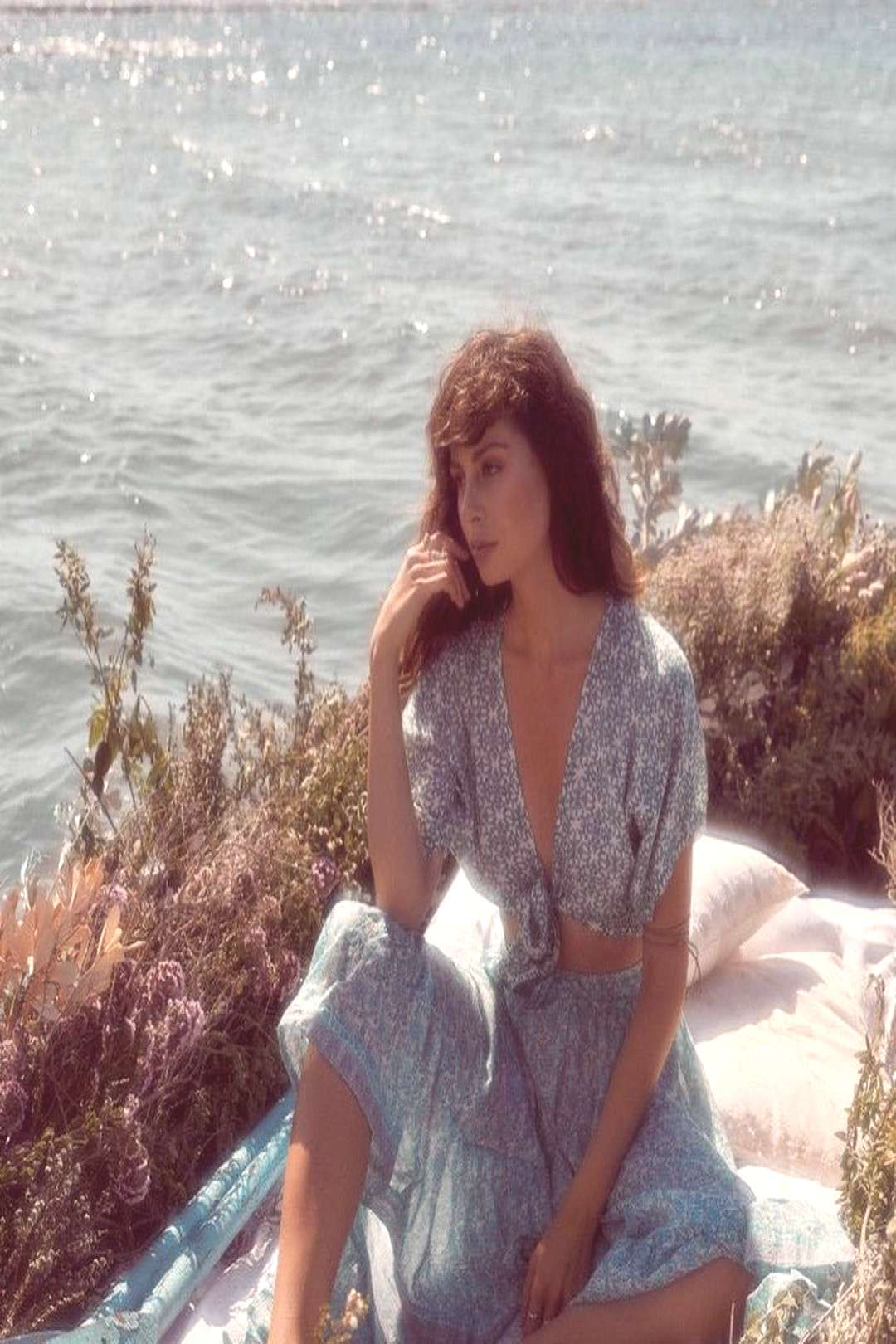 Fashion and beauty on April 24 2020 1 person standing ocean outdo