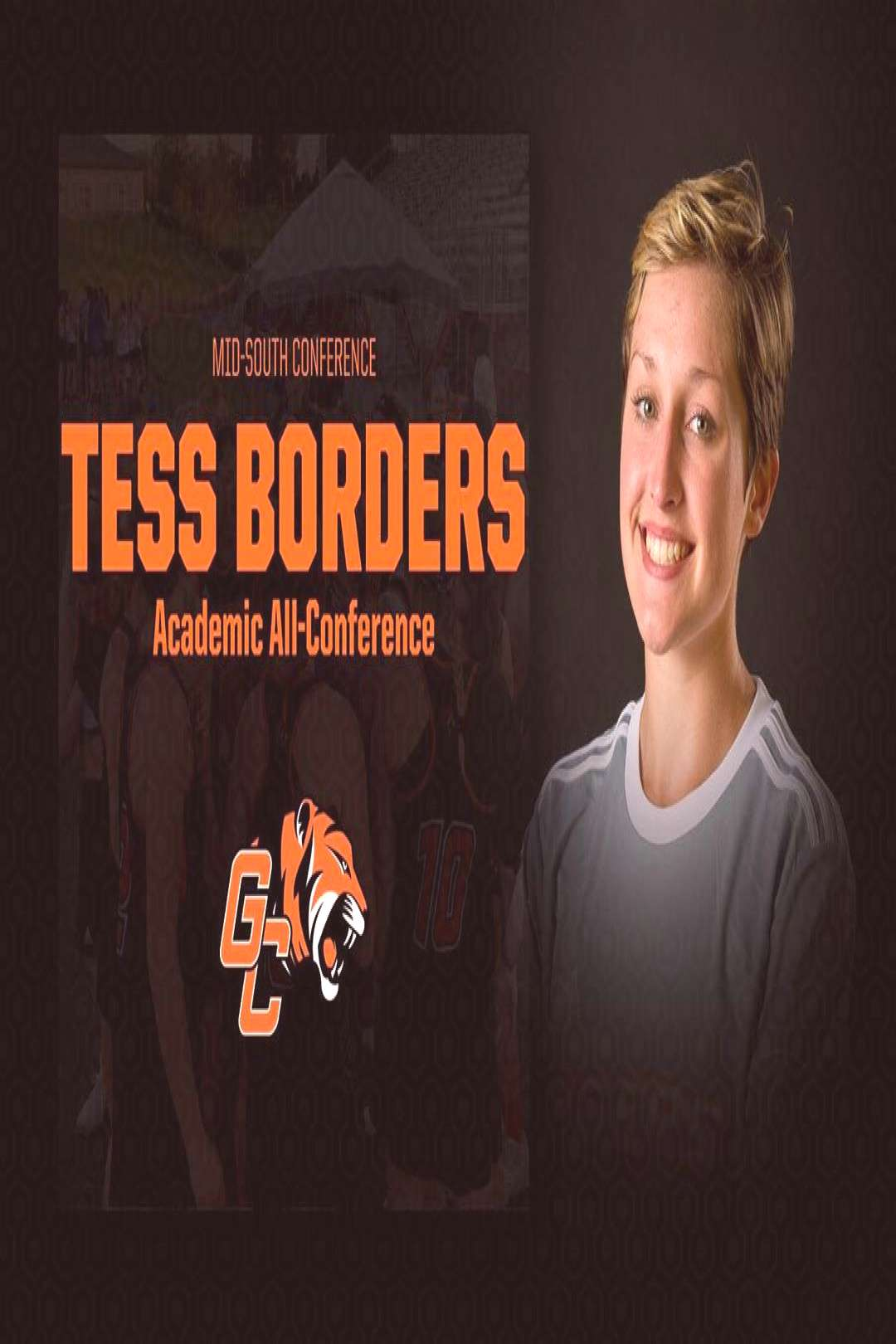 Georgetown College Lacrosse on April 20 2020 tessica and 1 person