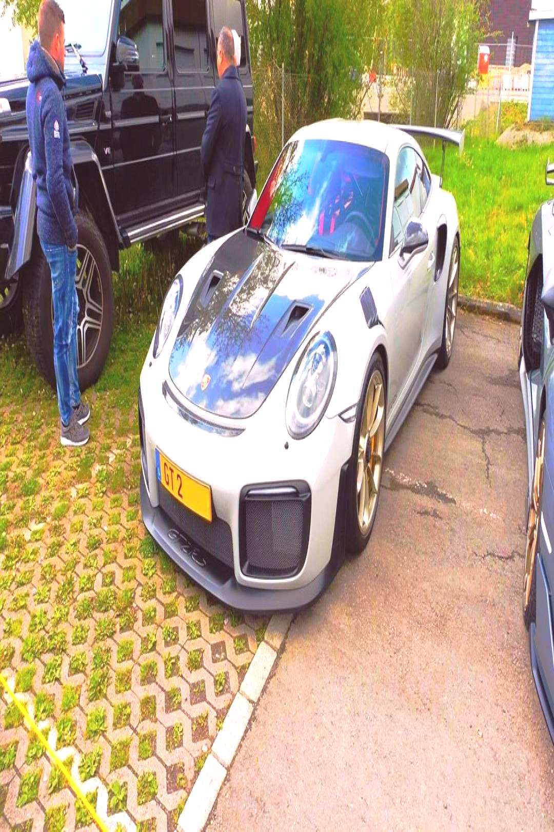 Nathaniel Scheidt on April 22 2020 gt2rs and car and outdoor