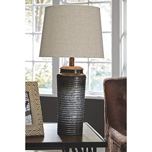 Signature Design by Ashley - Norbert Table Lamp - Urban