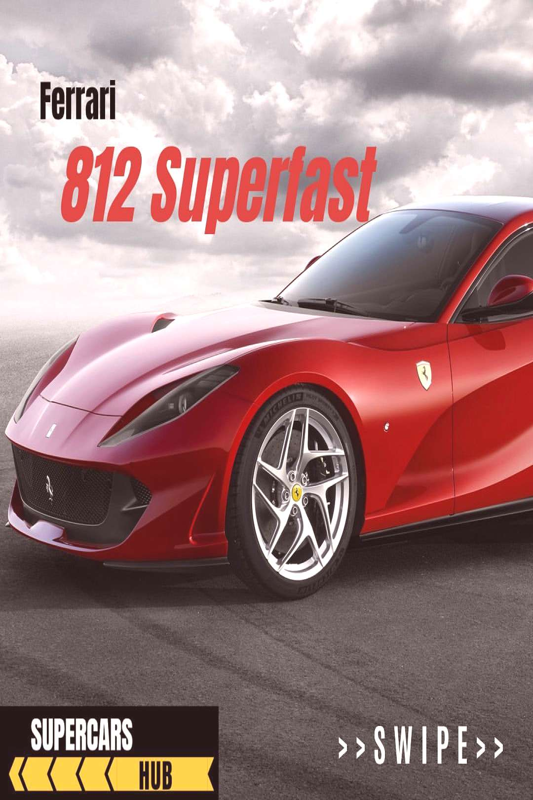 Supercars Hub on April 22 2020 car possible text that says Ferrar