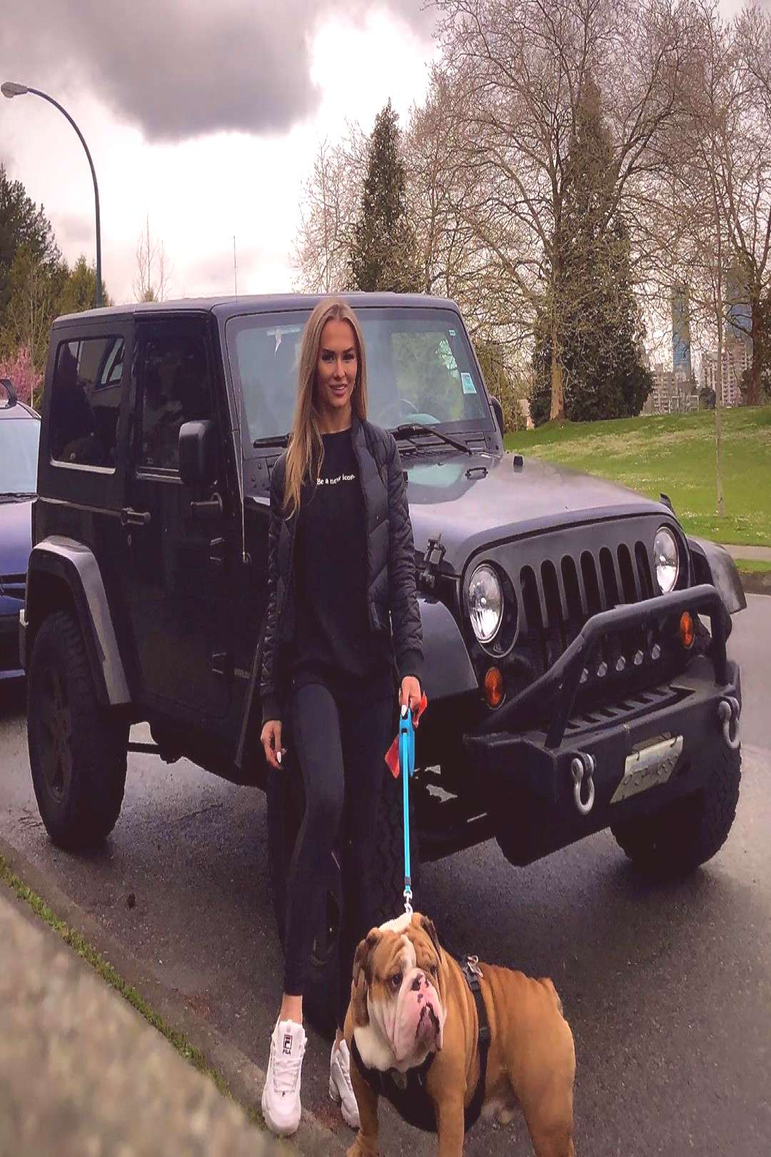 Victoria Hermann on April 23 2020 addicts and looks 1 person dog